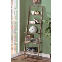 Leaning Ladder Bookshelf | HomesFeed