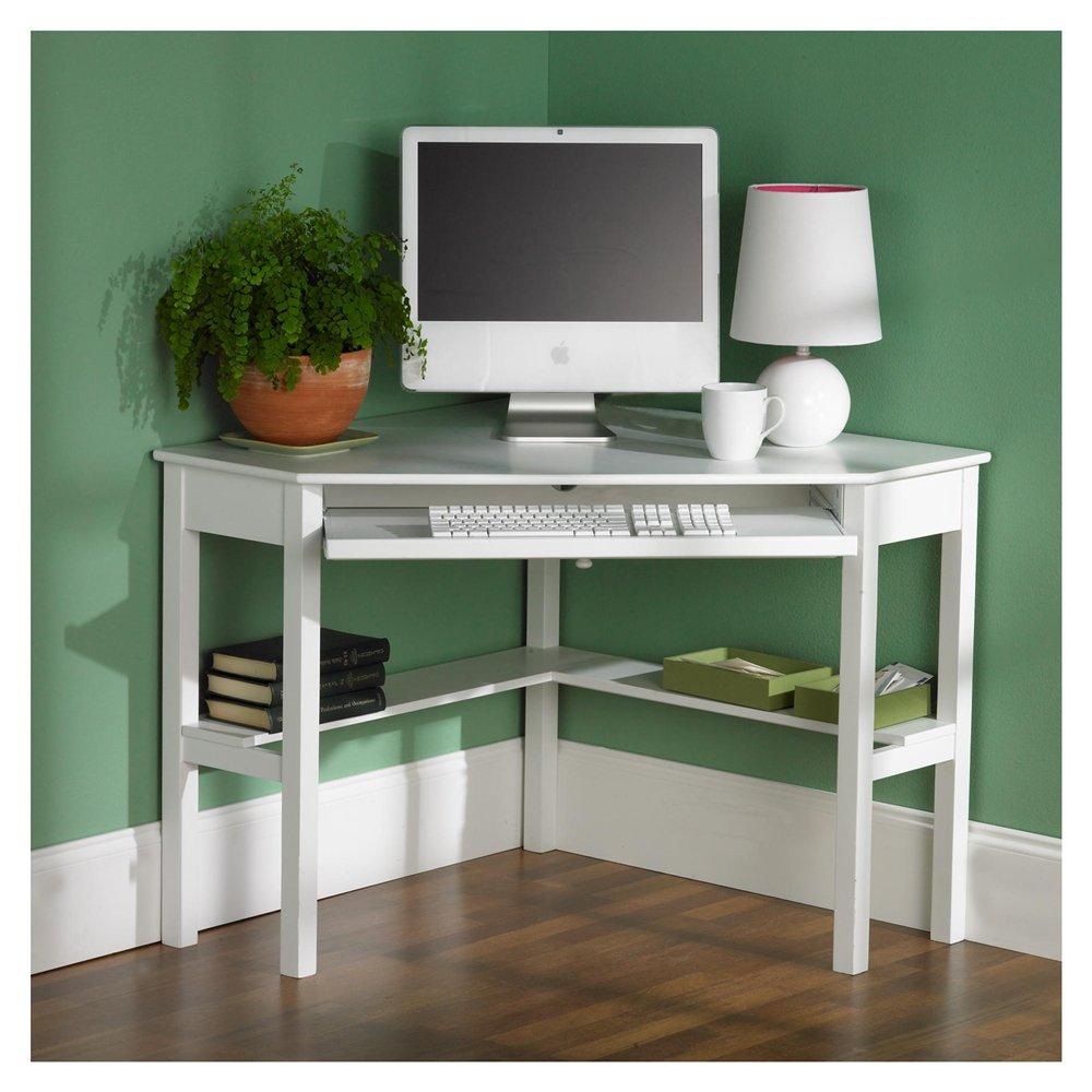 Corner Desk with Shelves Design  HomesFeed