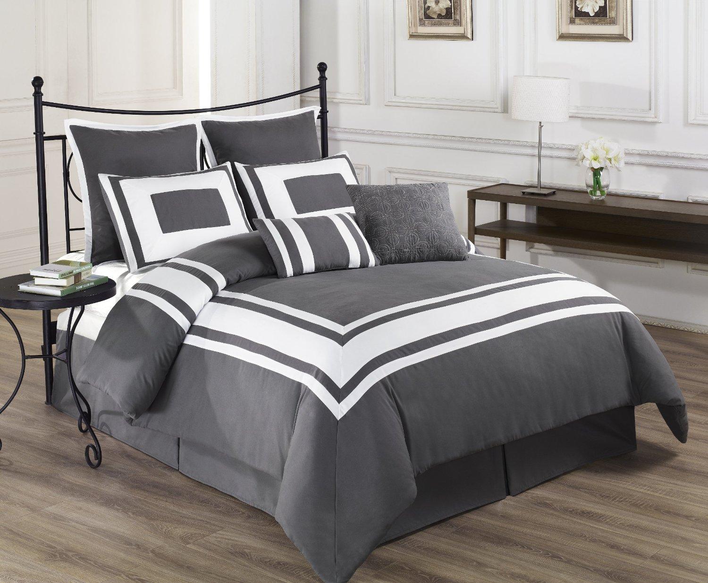 Grey King Size Bedding Ideas  Homesfeed