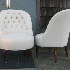 Leather Slipper Chair Chocolate Wedding Cover Hire Oswestry Ideas Homesfeed