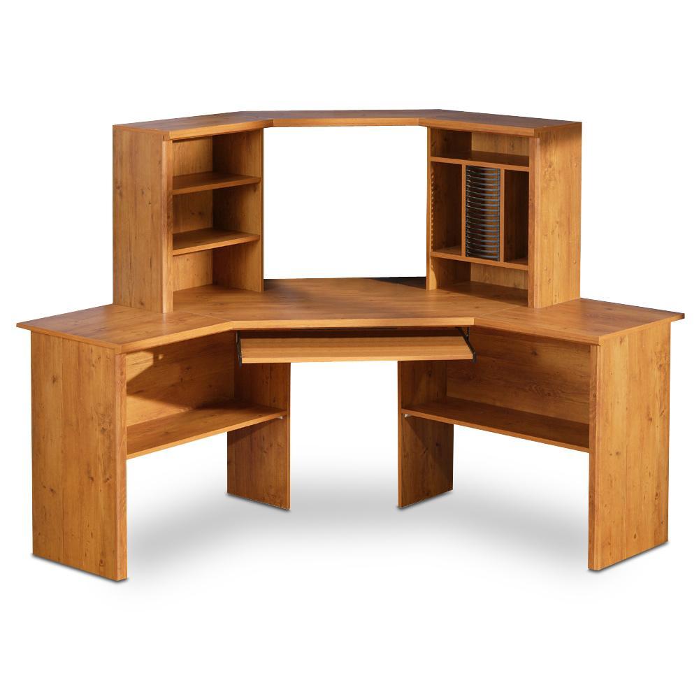 Corner Desk With File Cabinet