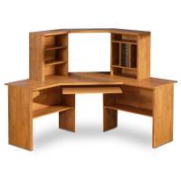 Corner Desk with Shelves Design | HomesFeed
