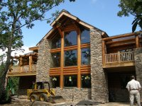 Stone House Plans With Porch House Design Plans Wood And ...