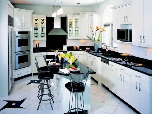 Black And White Kitchen Decor Feed Exclusive Modern
