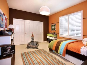 bedroom wall modern orange closet tone painted choosing area bedding different homesfeed nuance