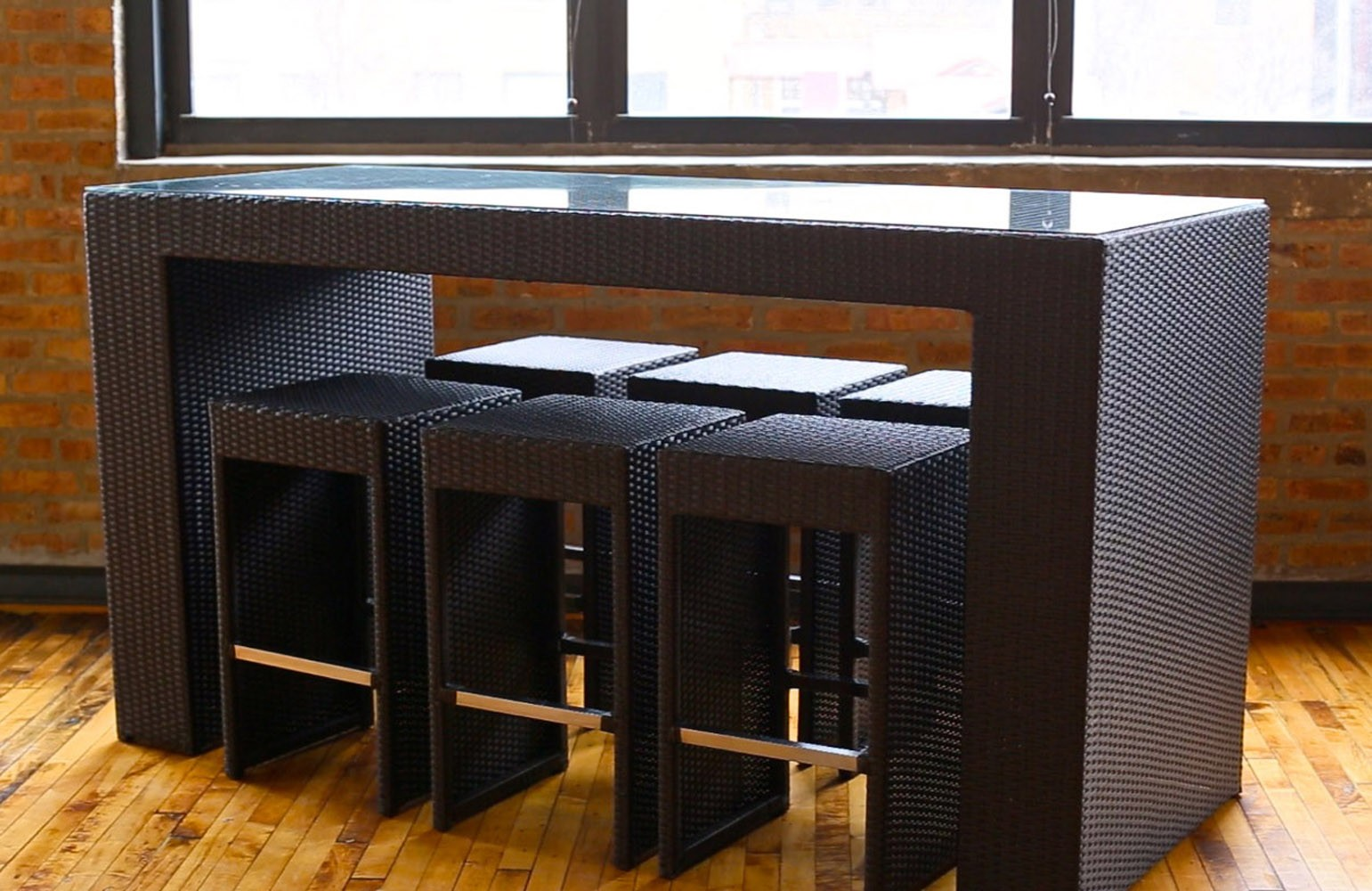high top table and chairs patio what is a side chair sets to create an entertaining dining space | homesfeed