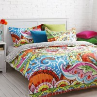 Tribal Pattern Bedding  to Experience Lovely Nuance