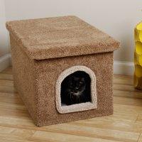 An Easy DIY: Cat Litter Box Ideas | HomesFeed