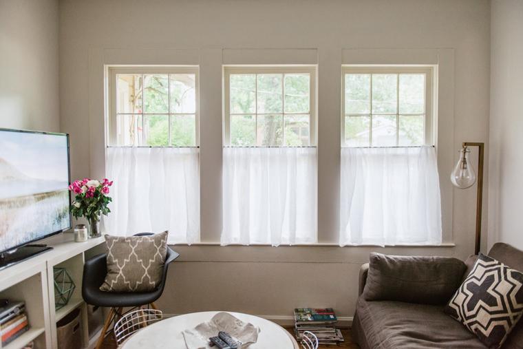 Beautiful Linen Café Curtains For Windows HomesFeed