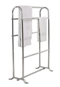 Stylish Free Standing Towel Racks for Outstanding Bathroom ...