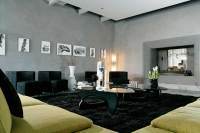 Black Living Room Rugs  Intentional Decoration for Classy ...
