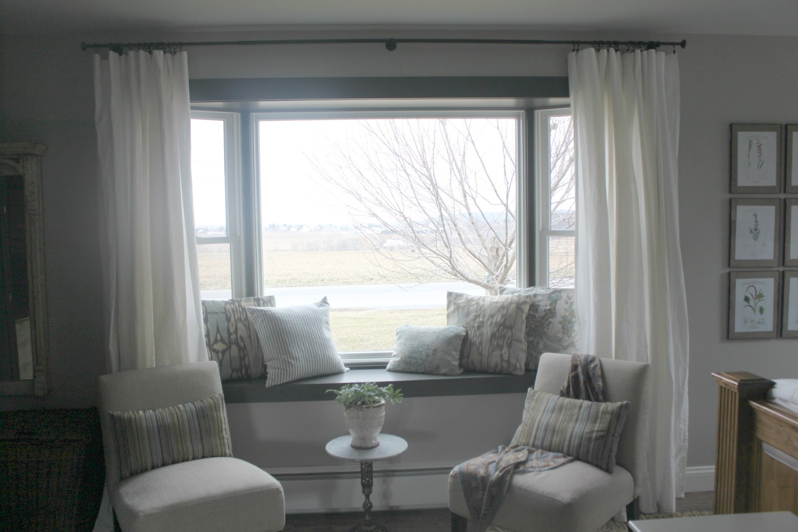 living room window sill decorating ideas furniture for a small bay couch – perfect angle to indulge your eyes ...
