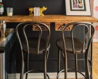 Vintage Metal Bar Stools | HomesFeed