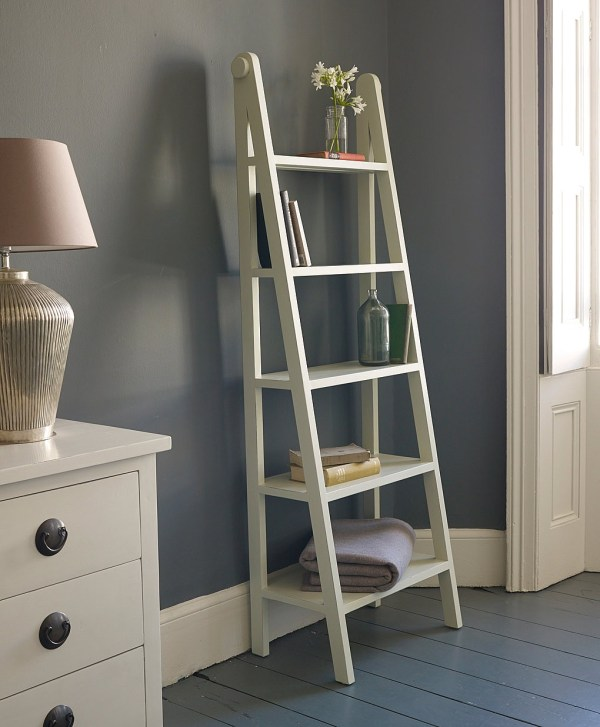 Ladder Shelving Unit Homesfeed