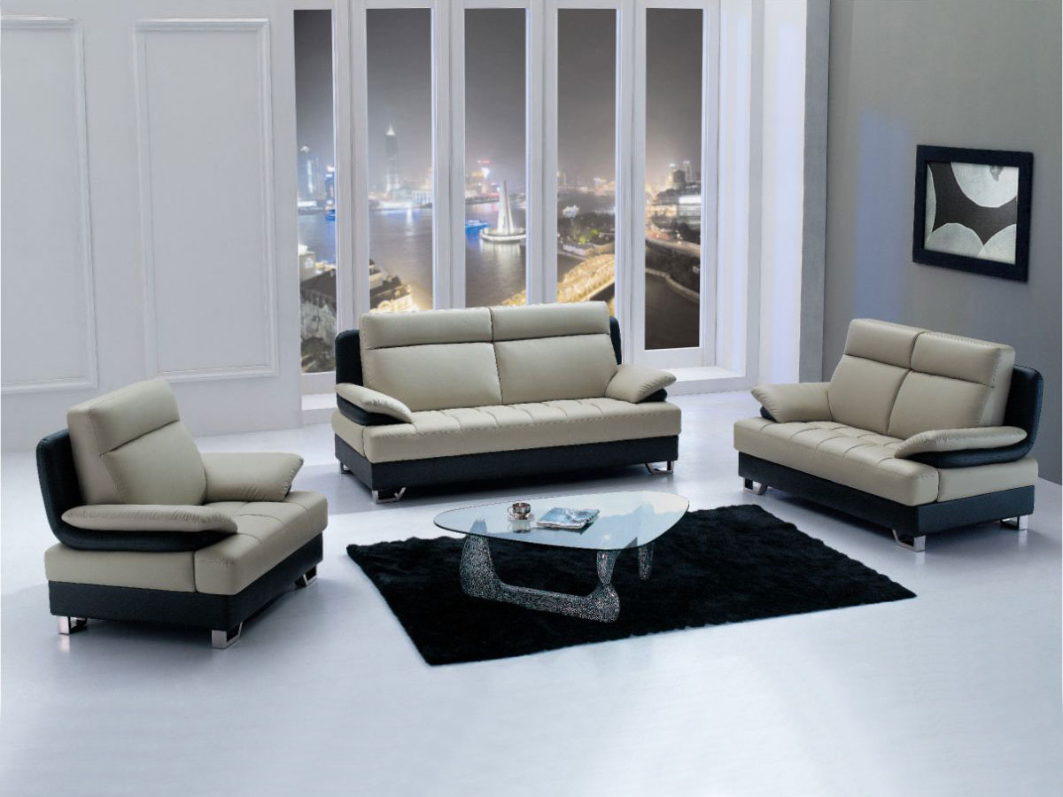 Living Room Sofa And 2 Chairs