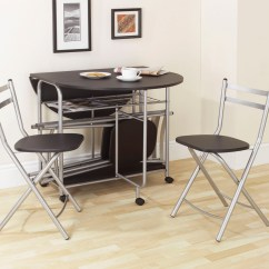 Space Saver Kitchen Table And Chairs Delta Faucet Parts Dining Set Homesfeed