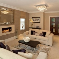 Living Room Colour Schemes Portable Seating Homesfeed Cream And Brown With Luxury Decoration