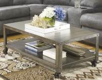 Coffee Table on Casters, Move It Anytime | HomesFeed