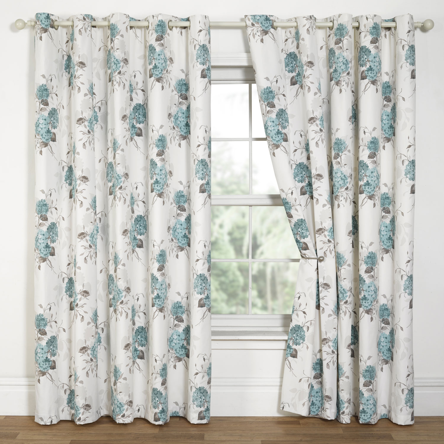 Superbe Duck Egg Blue White Patterned Curtains. White Patterned Curtains Homesfeed