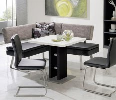 Corner Bench Kitchen Table Set A Kitchen and Dining Nook ...