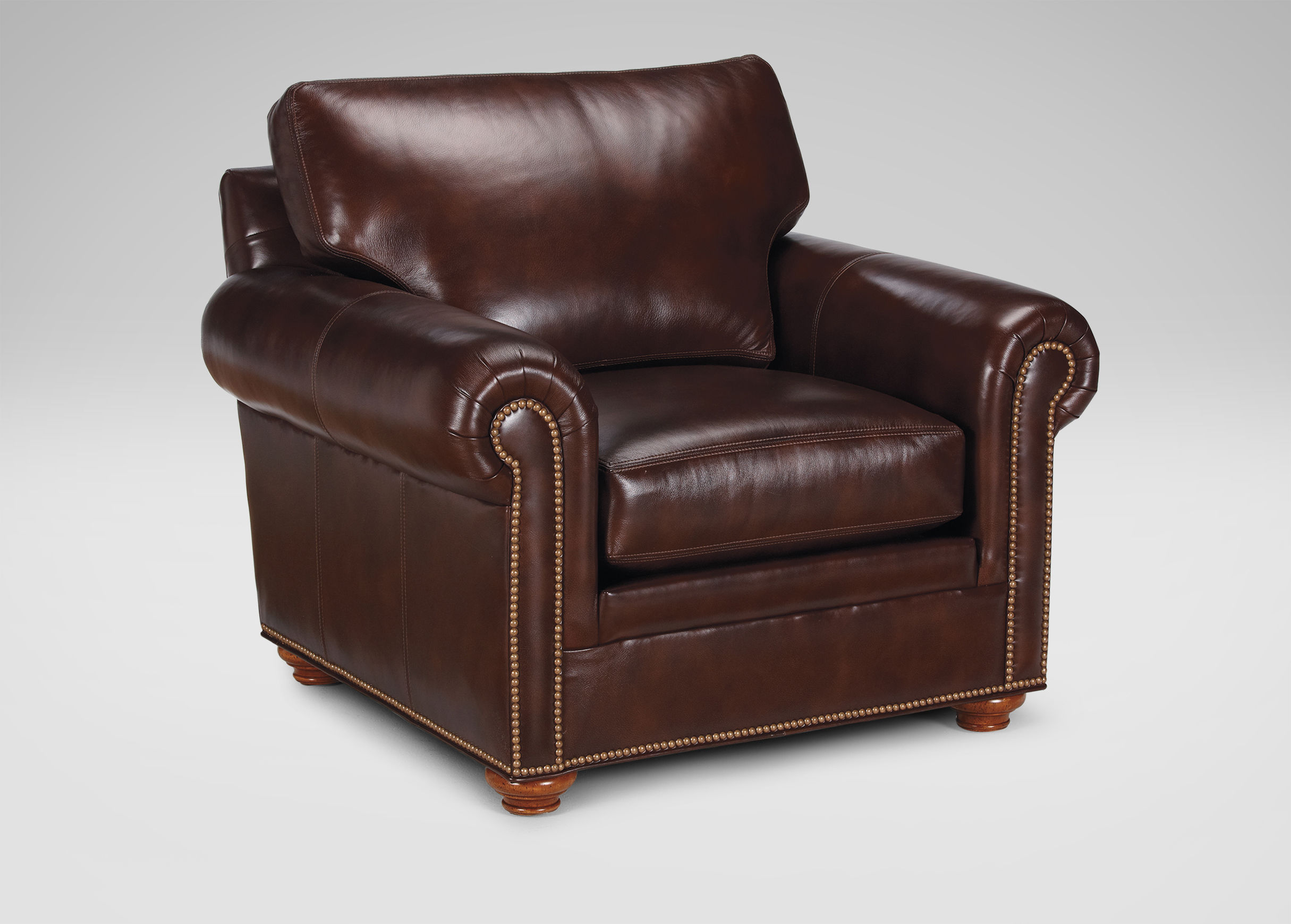 Leather Sofa Chair Ethan Allen Leather Furniture Homesfeed