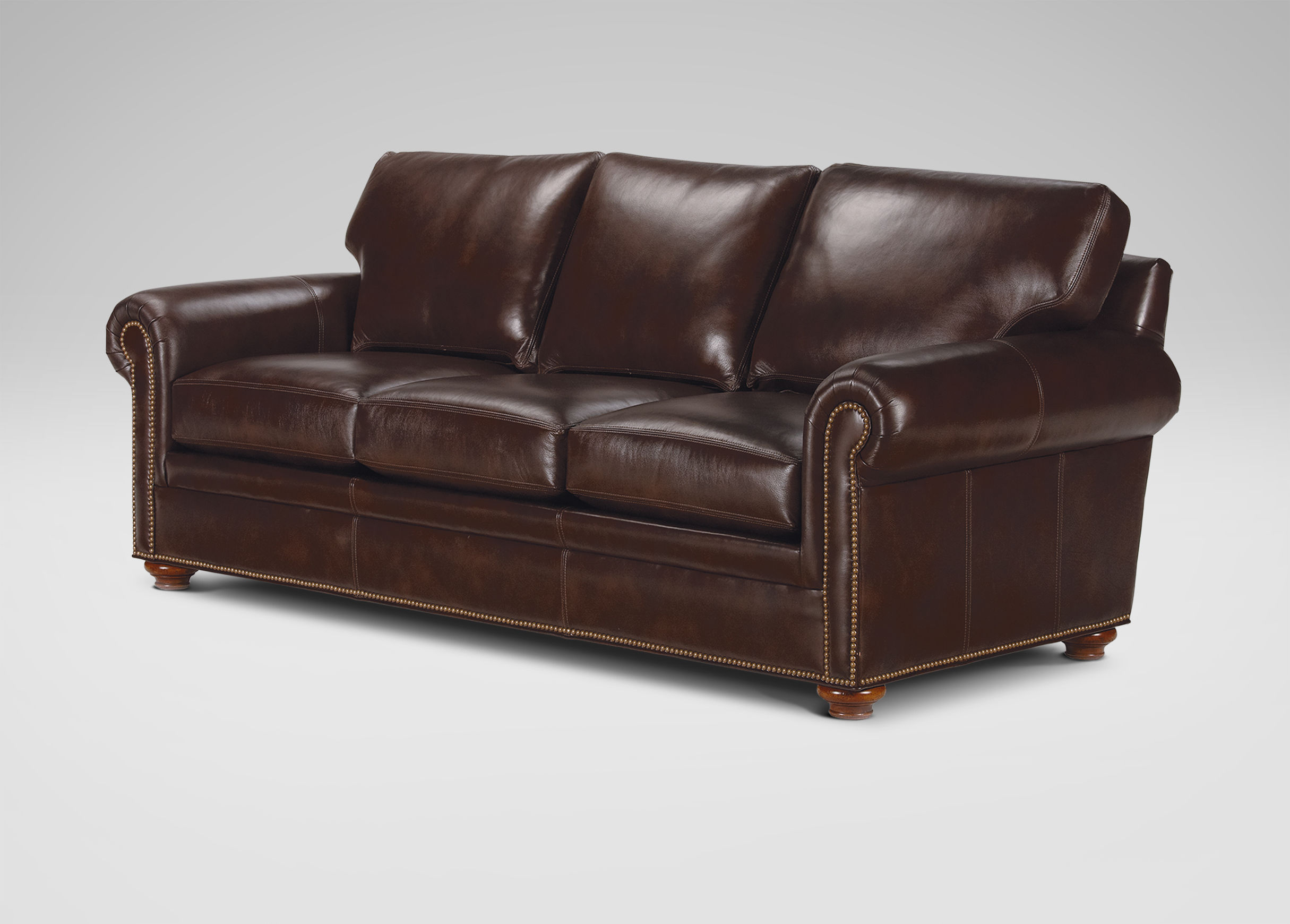Hyde Leather Sofa Ethan Allen 1025theparty Com