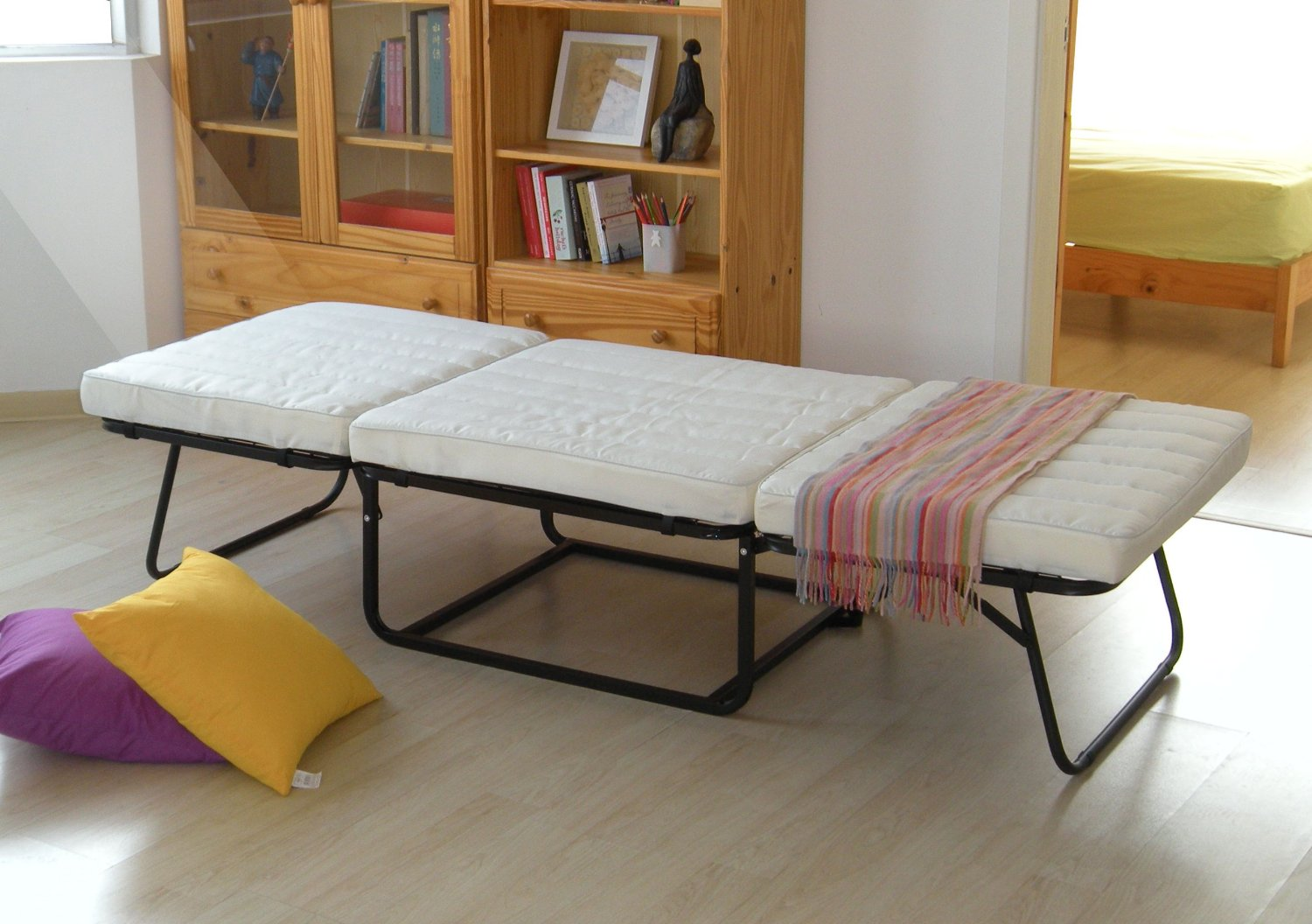 folding chair bed ikea bedroom guest easy and practical way to welcome your