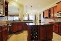 Kitchen Island with Wine Rack Design Options | HomesFeed