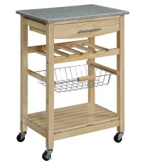 Kitchen Carts on Wheels: Movable Meal Preparation and ...