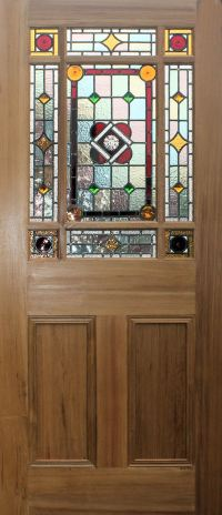 New! Stained Glass Internal Doors in Edwardian and ...
