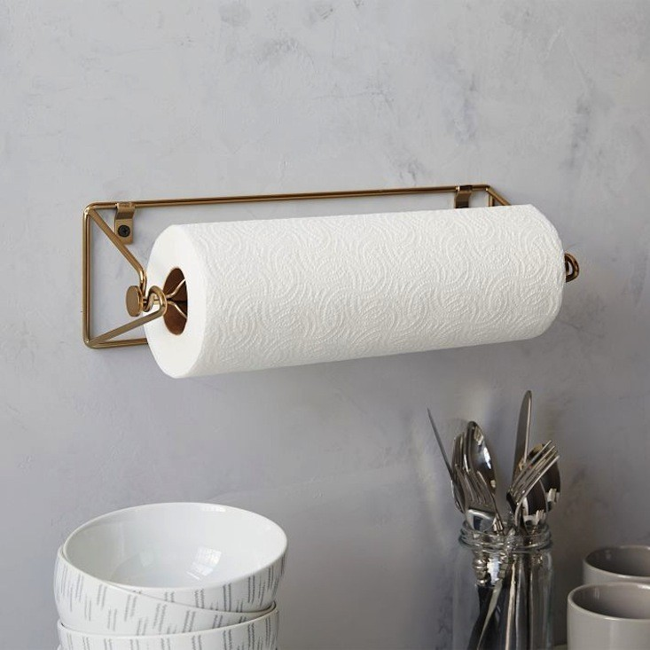 Contemporary Kitchen Paper Towel Holder