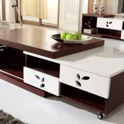 Cheap Center Tables For Living Room Best Color 2018 Top Ten Modern Table Lists Homesfeed Large And Movable In Dark Brown White Tone Colors