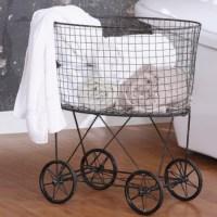 Laundry Baskets with Wheels | HomesFeed