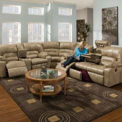 Leather Sectional Sofa With Recliner And Sleeper Beds Gumtree Adelaide Unique Sofas | Homesfeed