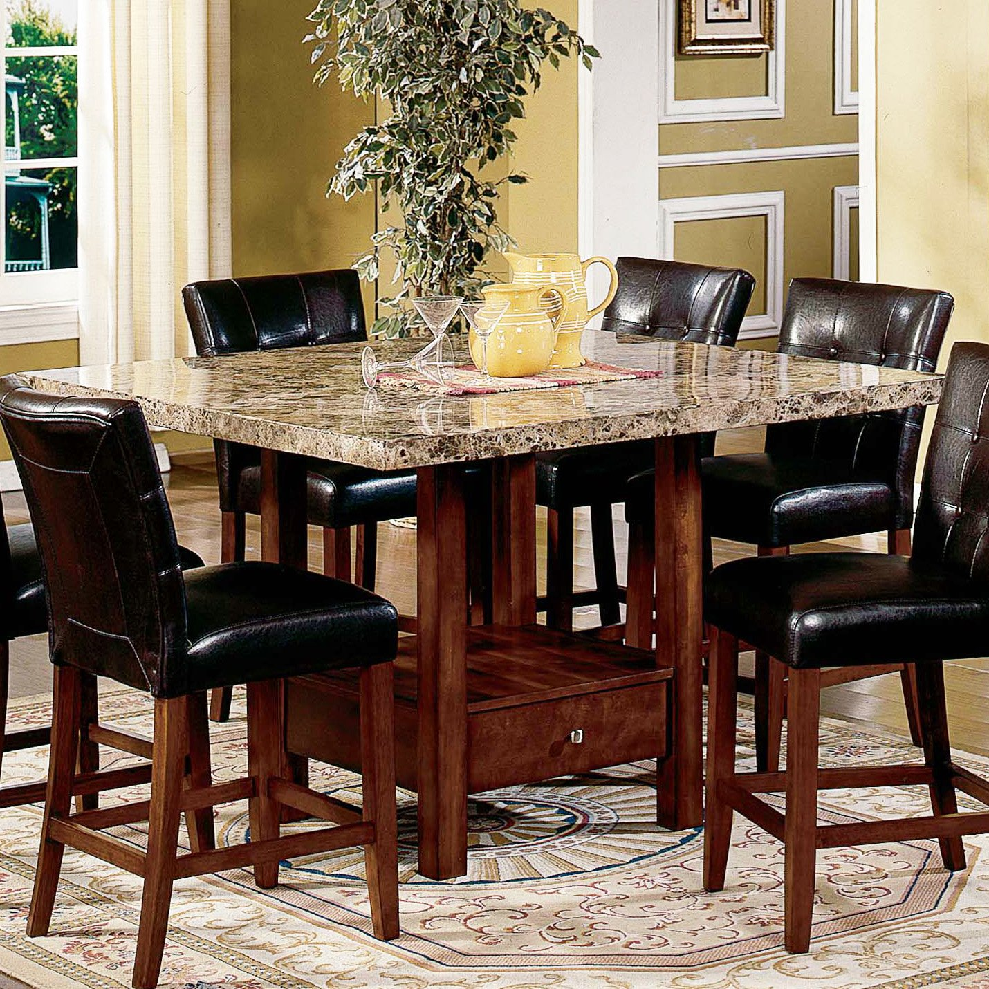 high table chair set french chairs top sets homesfeed