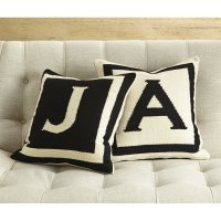 Monogrammed Throw Pillows