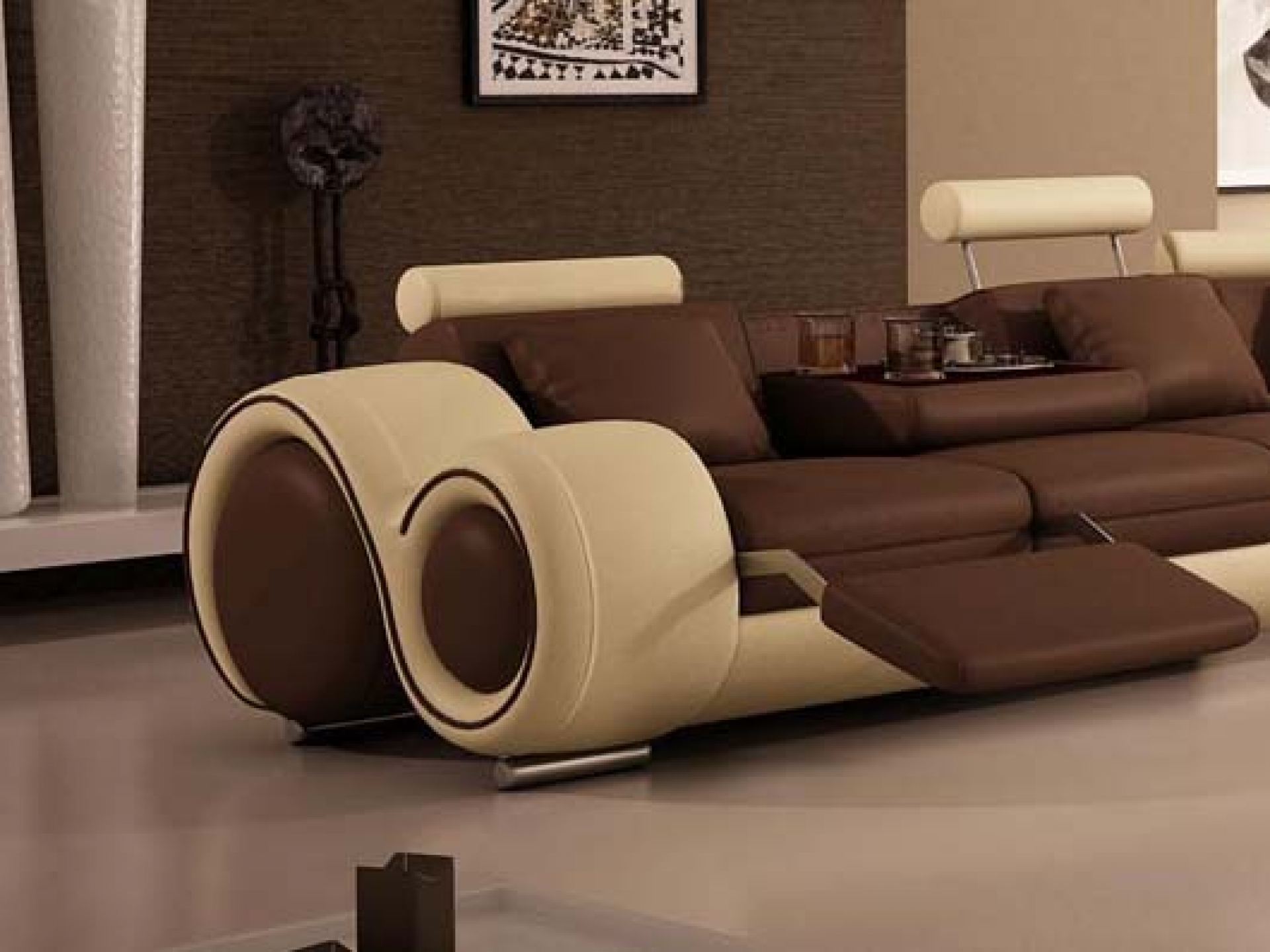 unique sofa clean your leather sectional sofas homesfeed