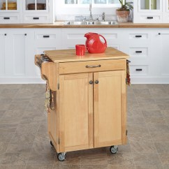 Kitchen Islands With Wheels Pop Up Electrical Outlet For Carts On Movable Meal Preparation And
