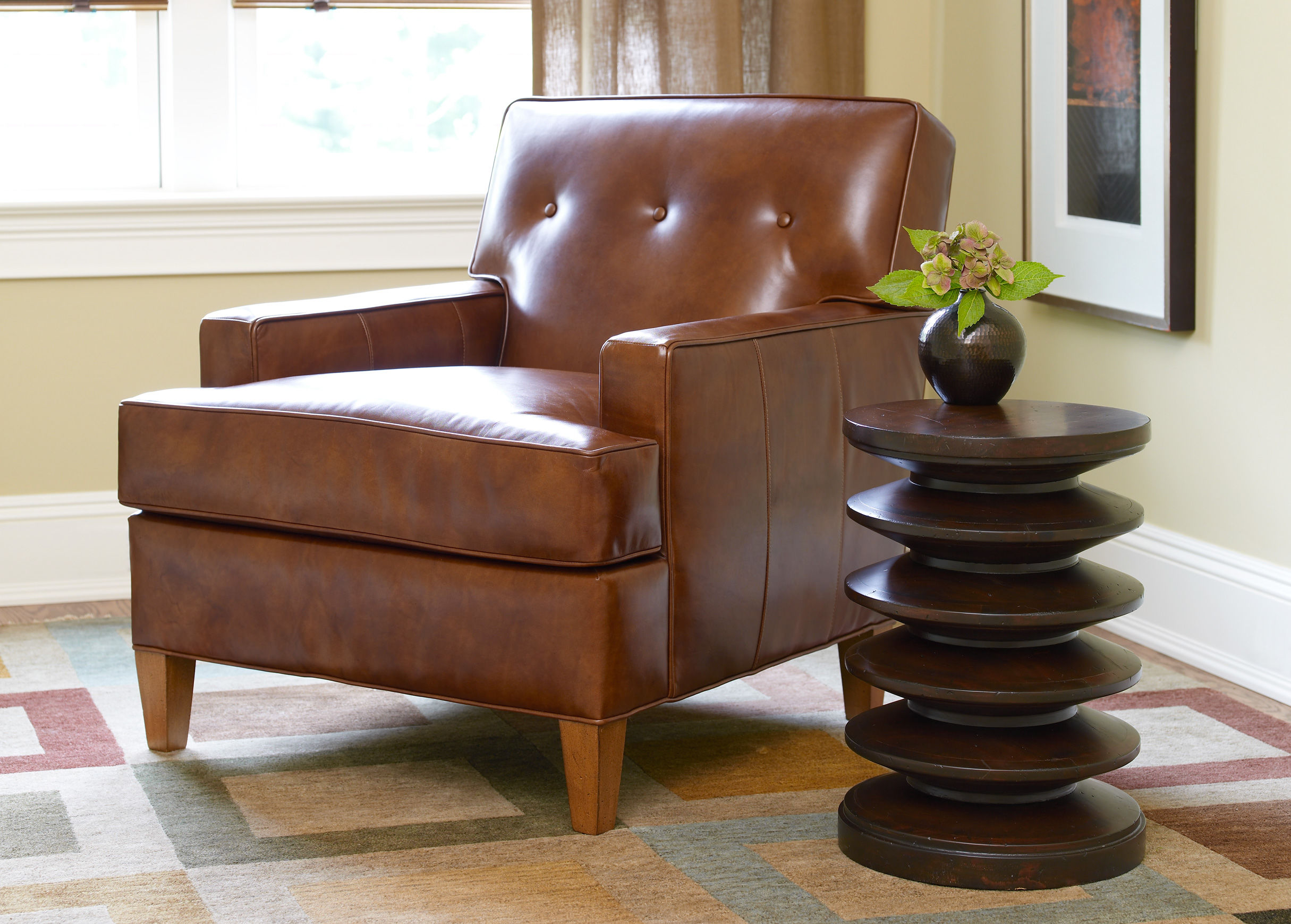 Ethan Allen Club Chairs Ethan Allen Leather Furniture Homesfeed