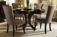 Round Dining Table Set with Leaf | HomesFeed