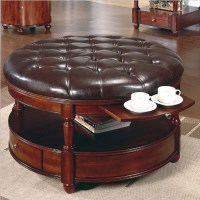Round Coffee Tables with Storage | HomesFeed