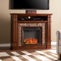 Faux Stone Electric Fireplace and Its Advantages | HomesFeed