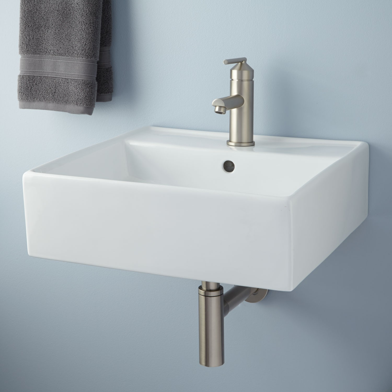 wall mounted kitchen sink dining tables small mount homesfeed
