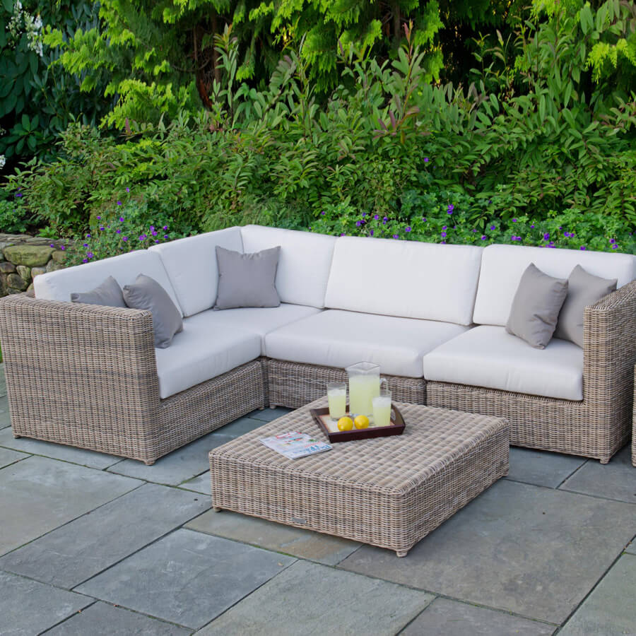 L Shaped Patio Furniture