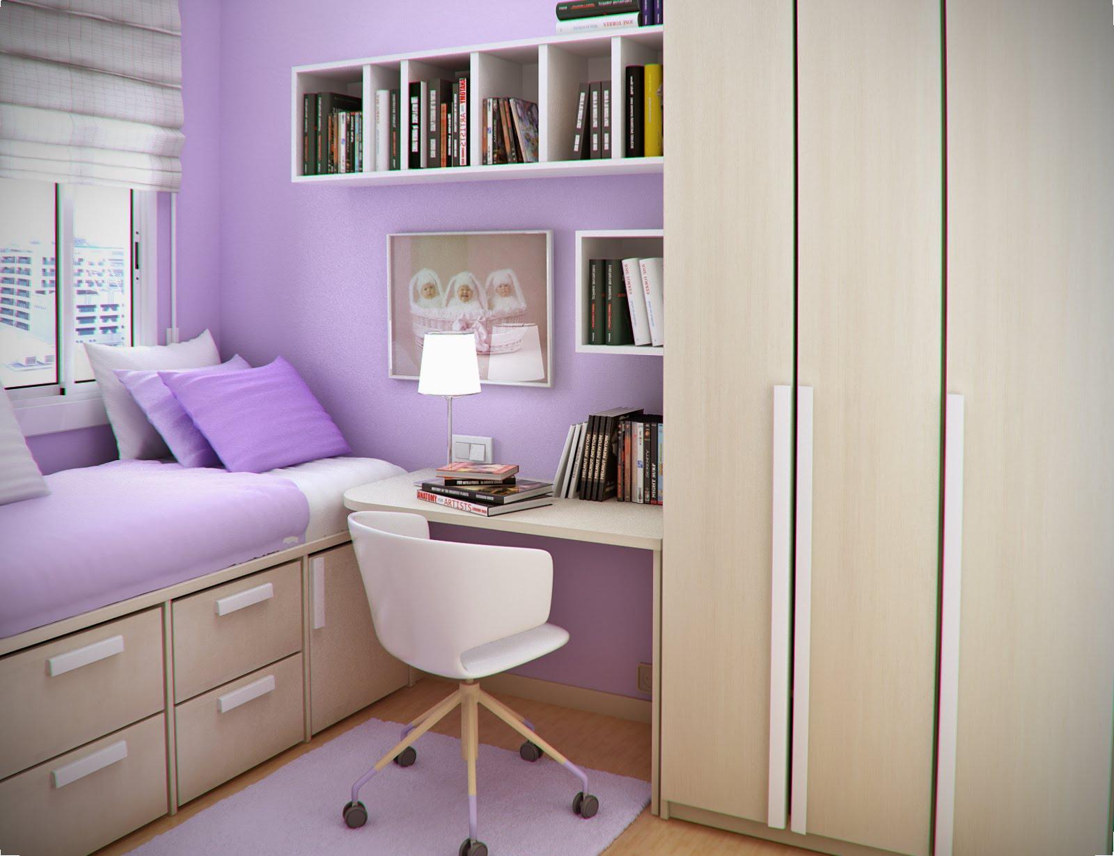 Small Bedroom Desks  HomesFeed