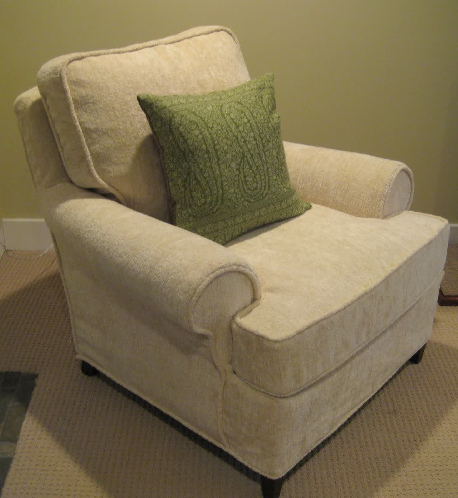 White Chair Slipcover Add Club Chair A Whole New Look Only With Club Chair