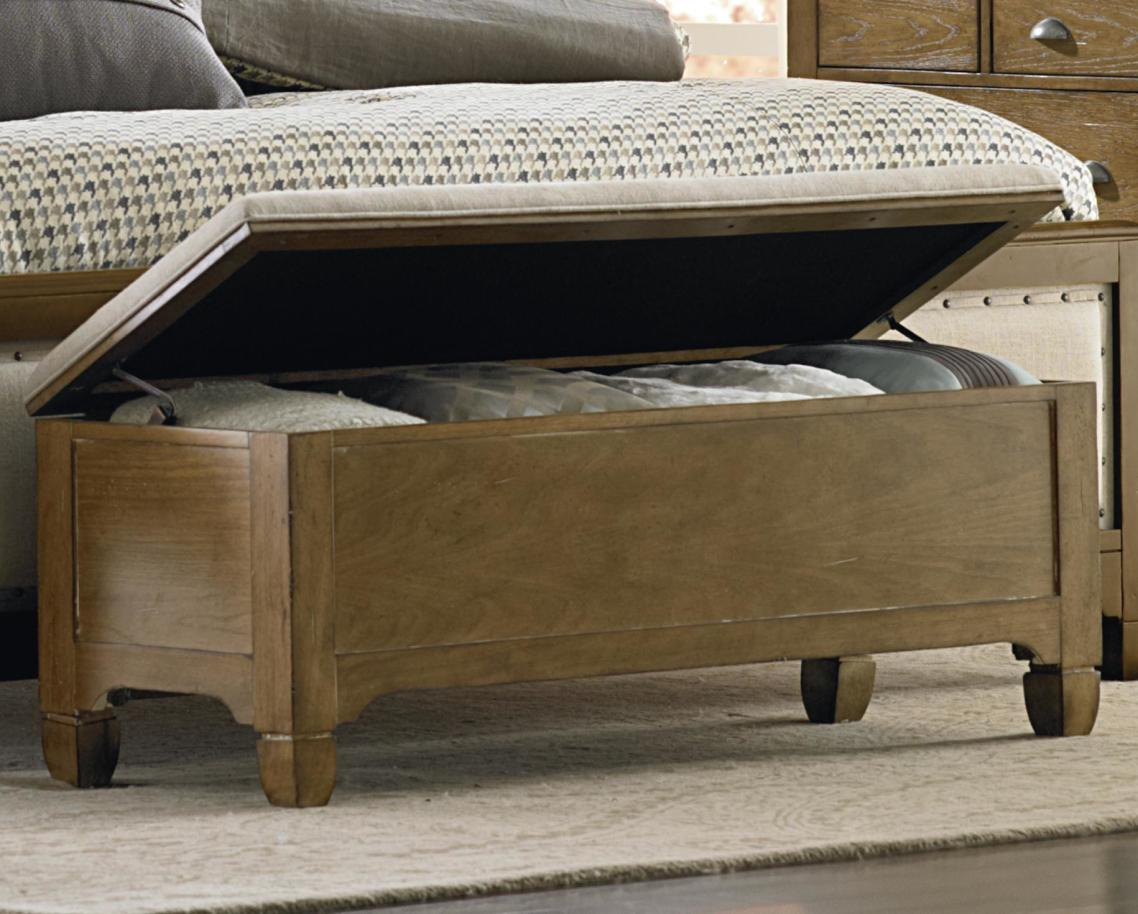 End of Bed Storage Bench