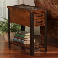 Slate End Tables