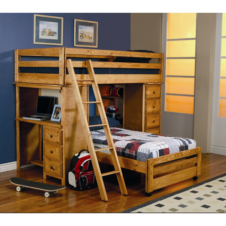 Bunk Beds with Desks  HomesFeed