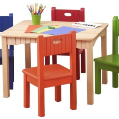 Chairs For Children Table And Chair Kids Wooden Homesfeed